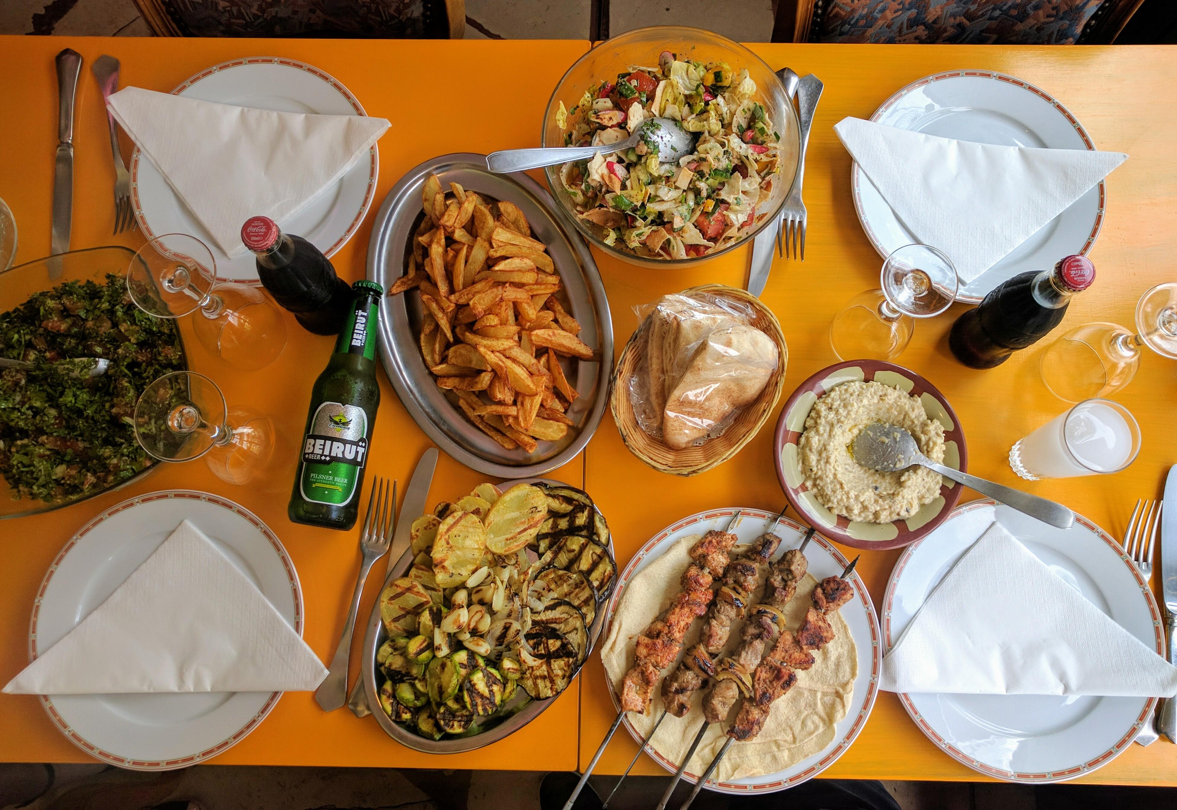 Restaurant libanais porte de versailles al fawar paris 15 me - Restaurant porte de versailles ...