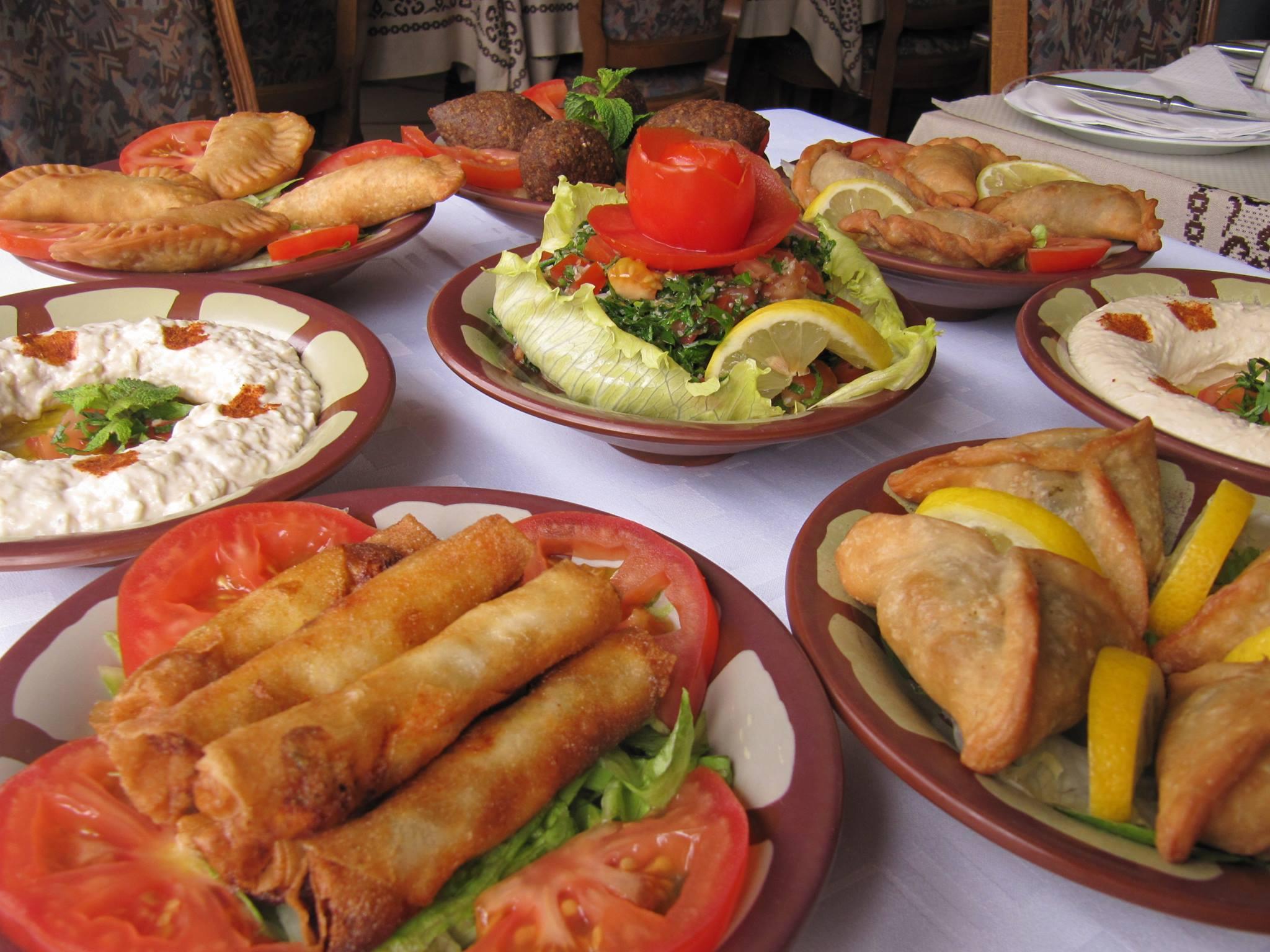 mézzé libanais - Al Fawar