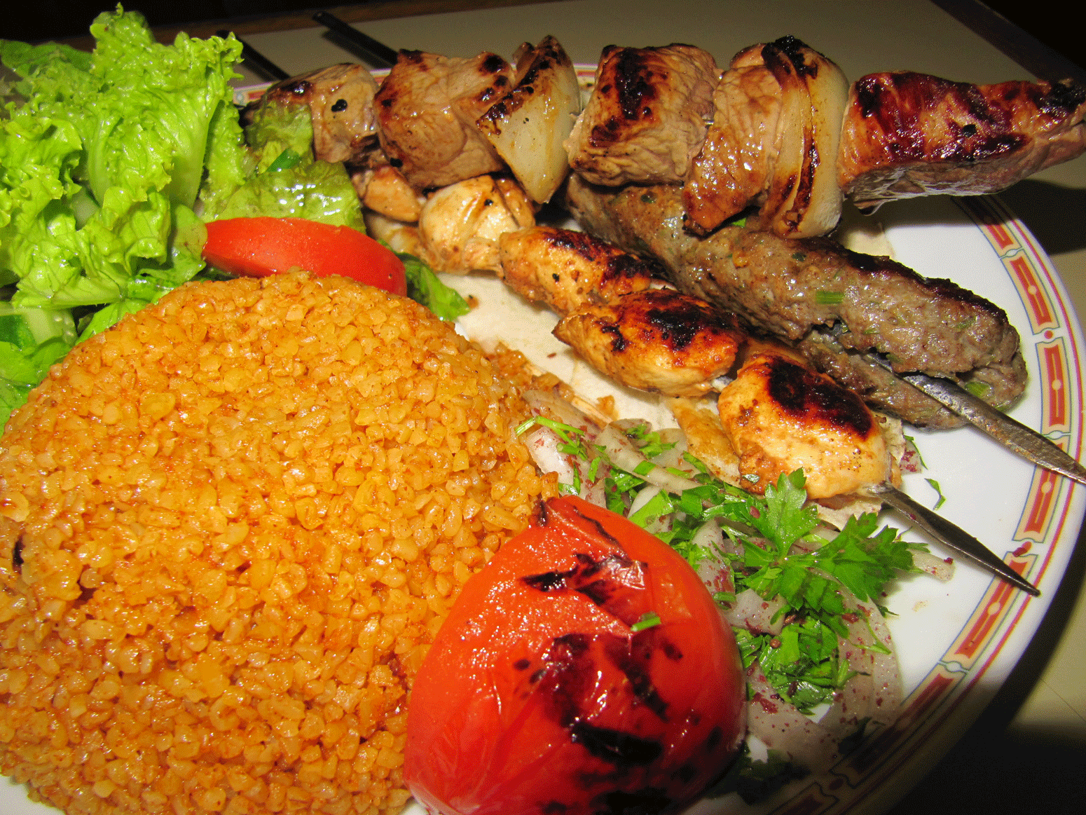 Grillade Mixte - Al Fawar